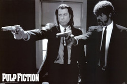 Image for Pulp Fiction Poster