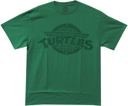 Image Closeup for TMNT Logo T-Shirt