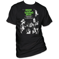Image Closeup for Night of the Living Dead T-Shirt - Poster