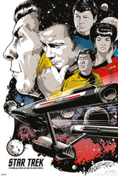 Image for Star Trek Poster - To Boldly Go