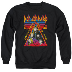 Image for Def Leppard Crewneck - Hysteria Tour