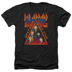 Image for Def Leppard Heather T-Shirt - Hysteria Tour