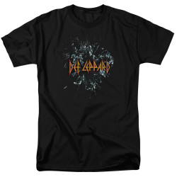 Image for Def Leppard T-Shirt - Broken Glass