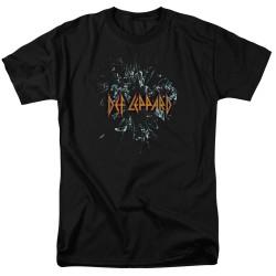 Image for Def Leppard T-Shirt - Broken Glass