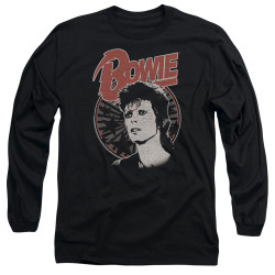 Image for David Bowie Long Sleeve Shirt - Space Oddity