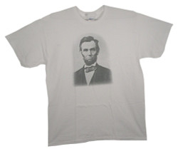 Image Closeup for President Lincoln T-Shirt