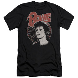 Image for David Bowie Premium Canvas Premium Shirt - Space Oddity
