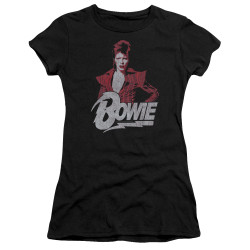 Image for David Bowie Girls T-Shirt - Diamond Dave