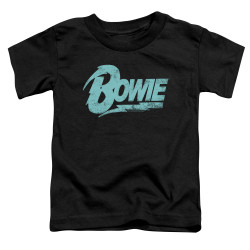 Image for David Bowie Logo Toddler T-Shirt
