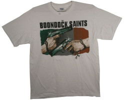 Image Closeup for Boondock Saints Truth & Justice T-Shirt