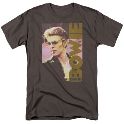 Image for David Bowie T-Shirt - Smokin