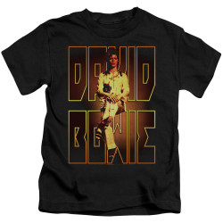 Image for David Bowie Perched Kid's T-Shirt