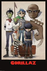 Image for Gorillaz Poster - Family Portrait