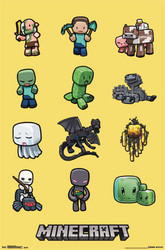 Image for Minecraft Poster - Characters