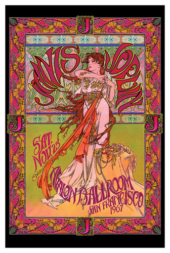 Image for Janis Joplin Poster - Masse