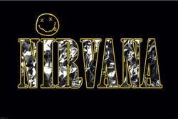 Image for Nirvana Poster - Logo