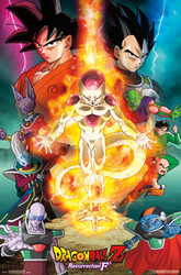 Image for Dragon Ball Z Poster - Resurrection