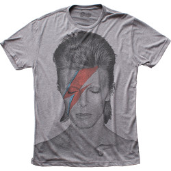 Image for David Bowie T-Shirt - Aladdin Sane Big Print