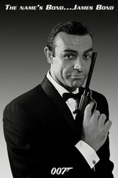 Image for James Bond Poster - Connery Tuxedo