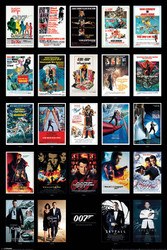 Image for James Bond Poster - 24 Movie Posters