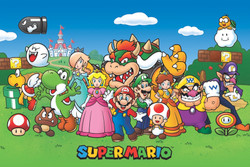 Image for Super Mario Poster - Animated