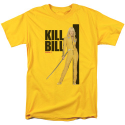 Image for Kill Bill T-Shirt - Yellow Suit