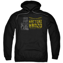 Image for Kill Bill Hoodie - Hanzo Swords