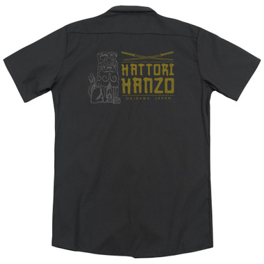 Image for Kill Bill Dickies Work Shirt - Hanzo Swords