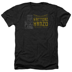 Image for Kill Bill Heather T-Shirt - Hanzo Swords