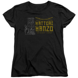 Image for Kill Bill Womans T-Shirt - Hanzo Swords
