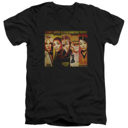 Image for Kill Bill V Neck T-Shirt - Deadly Viper Assassination Squad