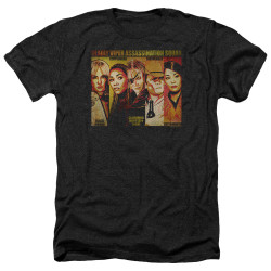 Image for Kill Bill Heather T-Shirt - Deadly Viper Assassination Squad
