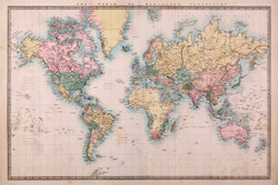 Image for Map Poster - Mercators Projection