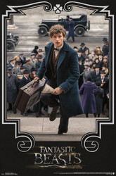 Image for Fantastic Beasts Poster - Newt Steps