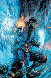 Image for Mortal Kombat Poster - Sub-Zero Comic