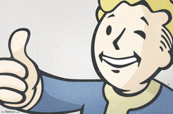 Image for Fallout Poster - Thumbs Up
