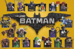 Image for Lego Batman Poster - Grid