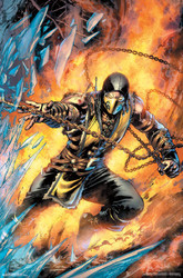 Image for Mortal Kombat Poster - Scorpion Comic