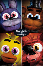 Image for Five Nights at Freddy's Poster - Quad