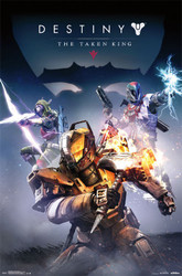 Image for Destiny Poster - Taken King Cover