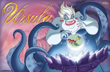 Image for Disney Villains Poster - Ursula