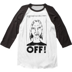 Image for OFF! First Four EPs 3/4 Sleeve Raglan T-Shirt