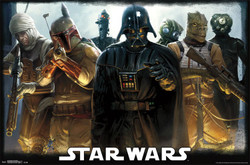 Image for Star Wars Poster - Bounty Hunters