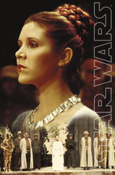 Image for Princess Leia Poster - Ceremony