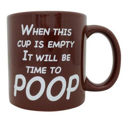 Image for Time to Poop Coffee Mug