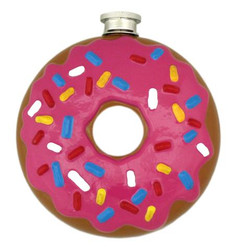Close Up for Donut Flask