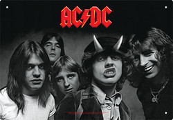 Image for AC/DC Tin Sign - Highway to Hell