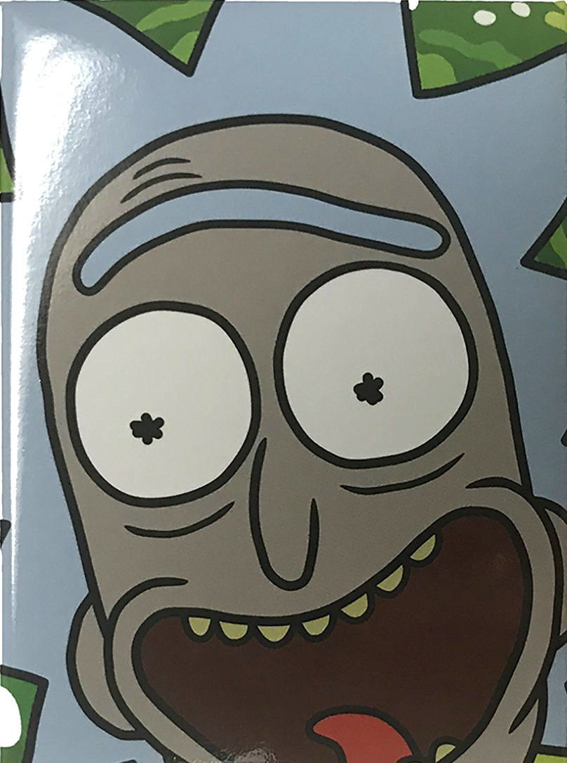 2f25fb705de8f9 Rick and Morty magnet - Rick Face - NerdKungFu
