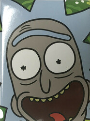 Image for Rick and Morty magnet - Rick Face