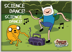 Image for Adventure Time magnet - Science Dance